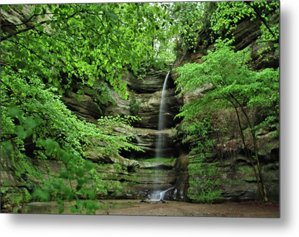 Wildcat Canyon Falls Metal Print