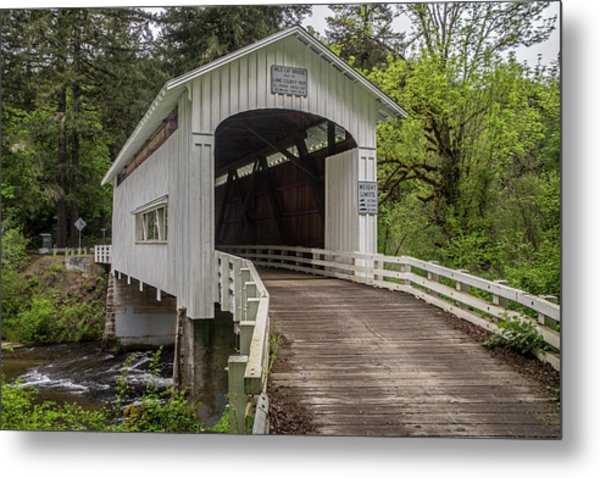 Wildcat Creek Bridge No. 1 Metal Print