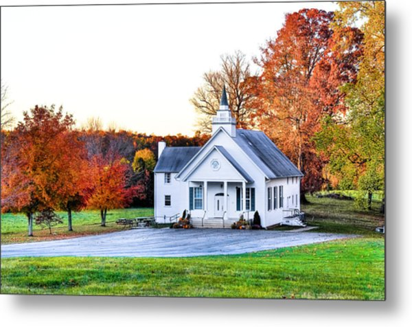 Wilderness Church Metal Print