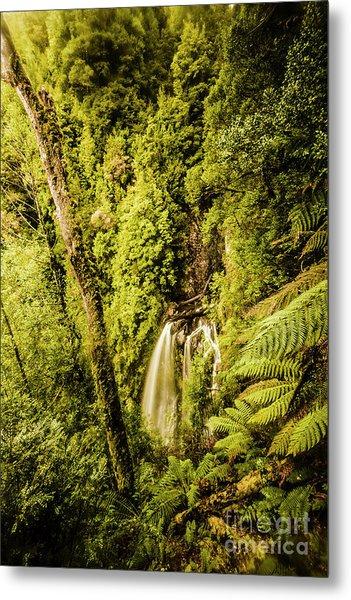 Wilderness Falls Metal Print