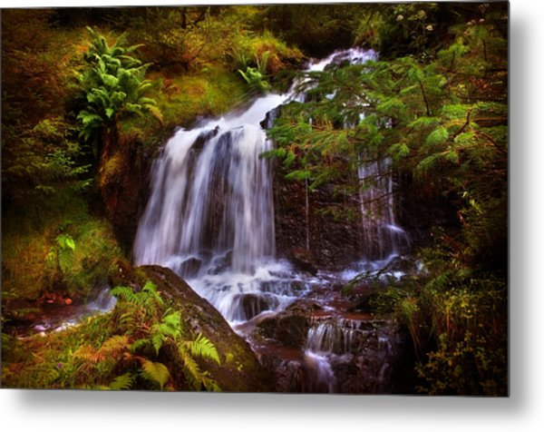 Wilderness. Rest And Be Thankful. Scotland Metal Print