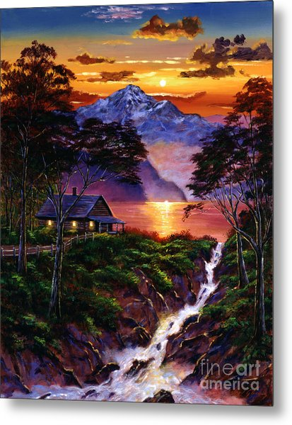 Wilderness Spirit Metal Print by David Lloyd Glover