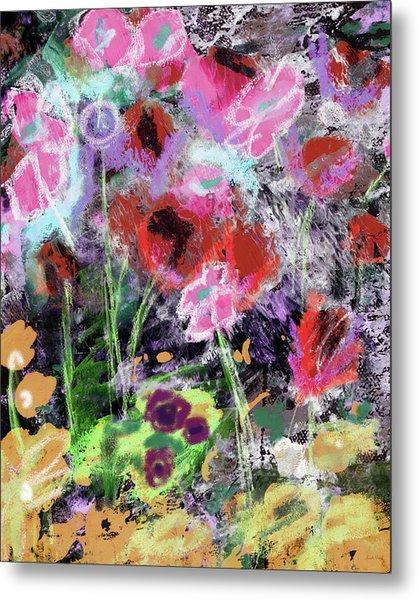 Wildest Flowers 2- Art By Linda Woods Metal Print