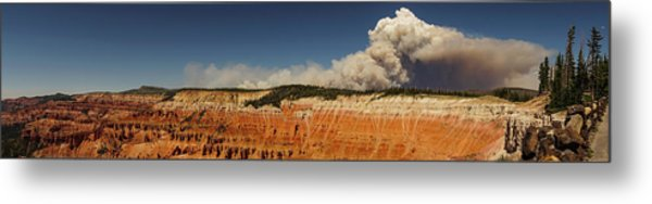 Wildfire Cedar Breaks National Monument Utah Metal Print