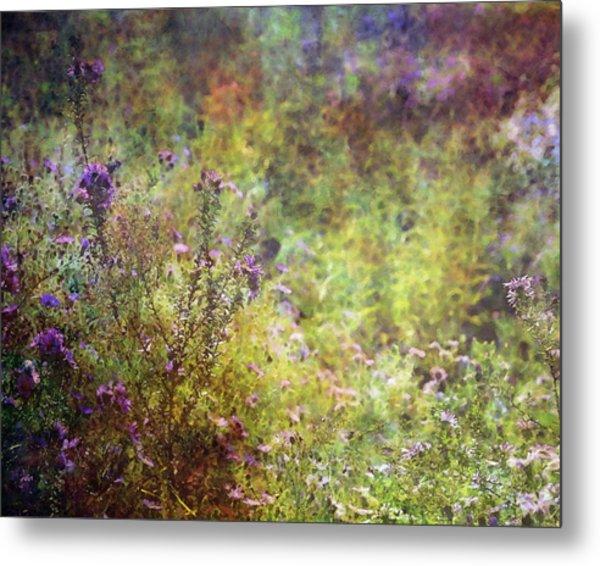 Wildflower Garden Impression 4464 Idp_2 Metal Print