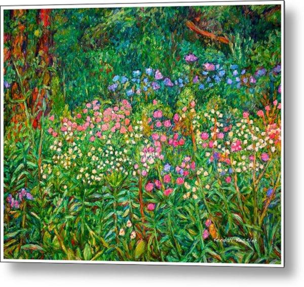 Wildflowers Near Fancy Gap Metal Print
