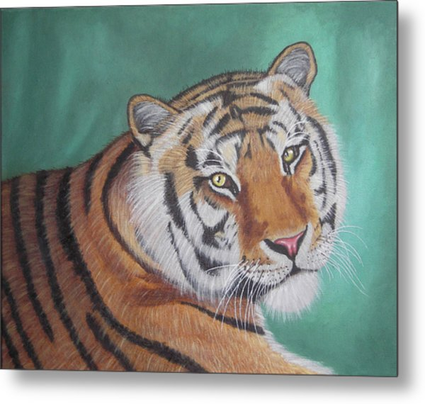 Wildlife Painting  Metal Print