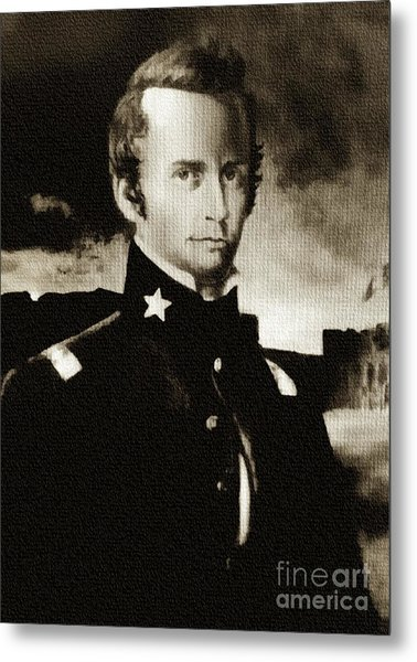 William B Travis - The Alamo Metal Print