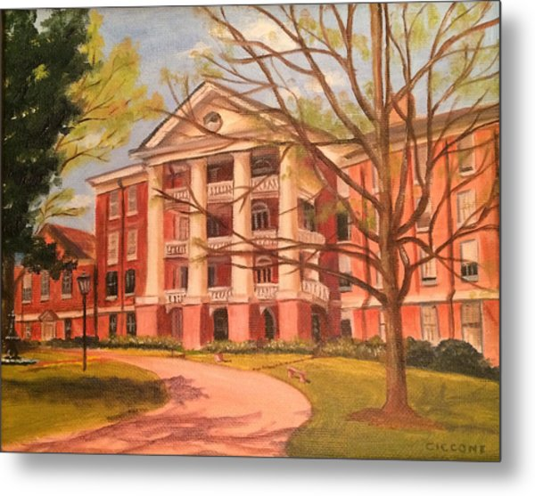 William Peace University Metal Print