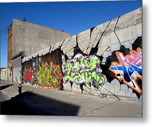Williamsburg Wall Art Metal Print