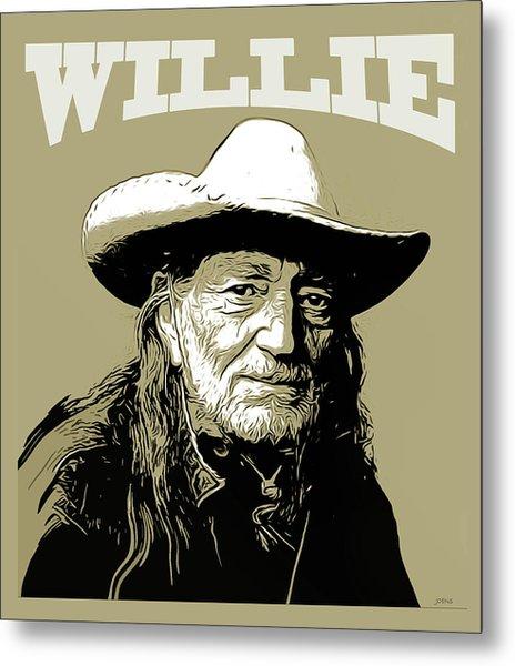 Willie 2 Metal Print