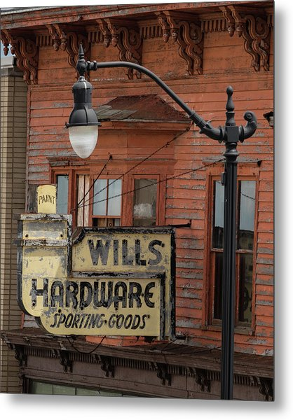 Wills Hardware Metal Print