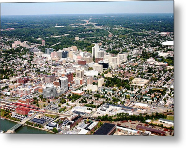 Wilmington Delaware Metal Print by Duncan Pearson
