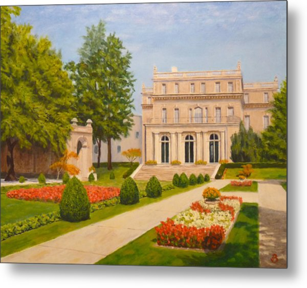 Wilson Hall Monmouth University Metal Print