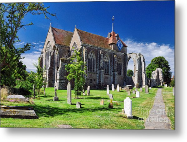 Winchelsea Church Metal Print
