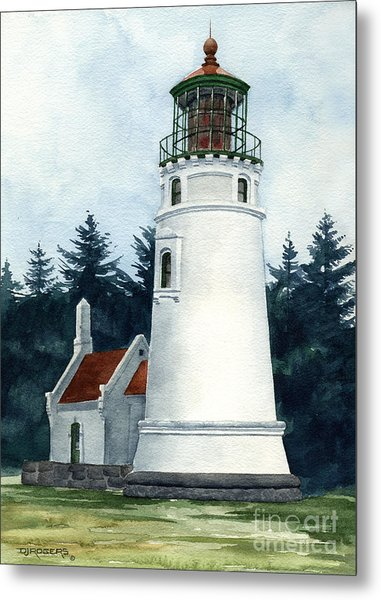 Winchester Bay Lighthouse Metal Print