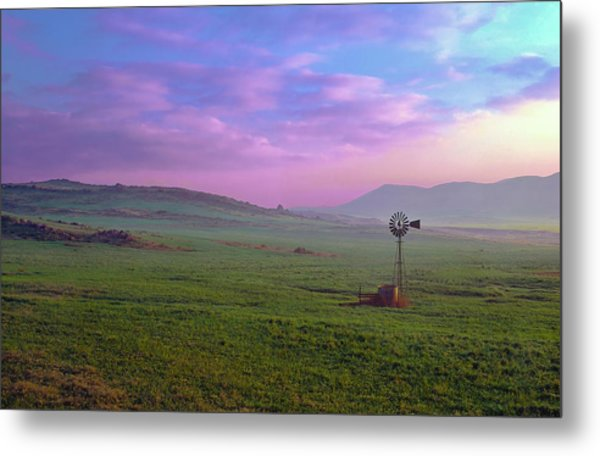 Winchester Windmill Pano View Metal Print