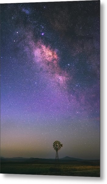 Metal Print featuring the photograph Wind And Stars by Darren White