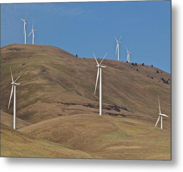 Wind Power 6 Metal Print