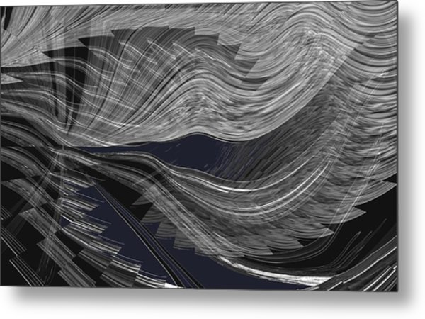 Wind Whipped Metal Print
