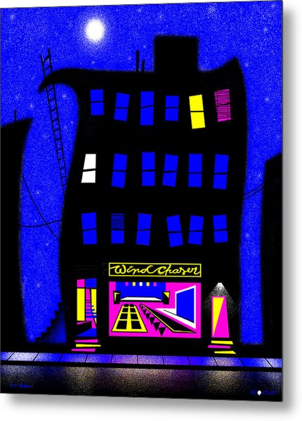Windchaser Metal Print by Cristophers Dream Artistry