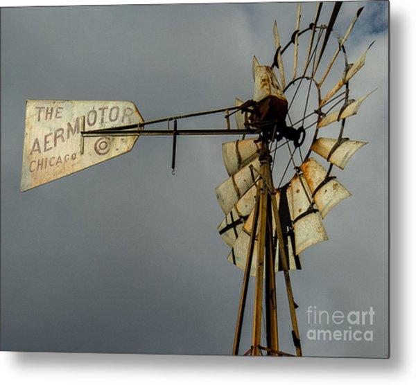 Windmill 1 Metal Print