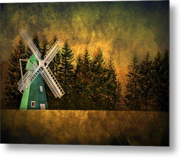 Windmill On My Mind Metal Print