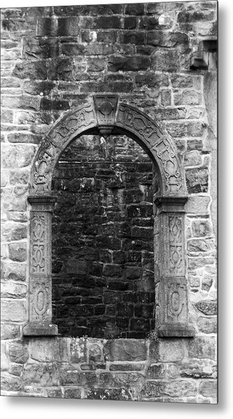 Window At Donegal Castle Ireland Metal Print