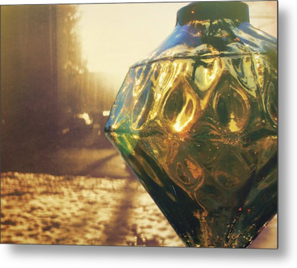 Window Dressing Metal Print by JAMART Photography