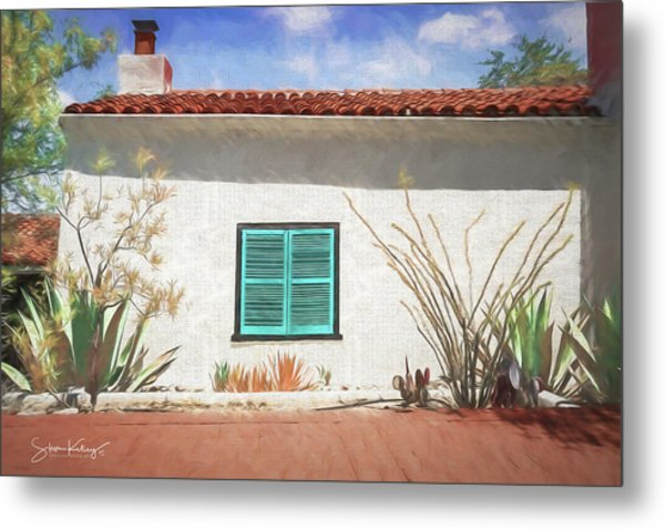 Window In Oracle Metal Print