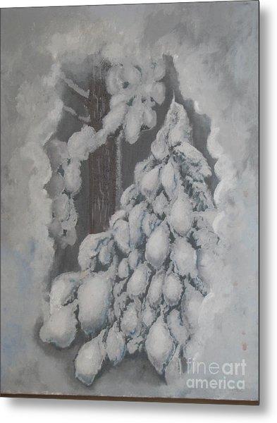 Window In The Storm Metal Print