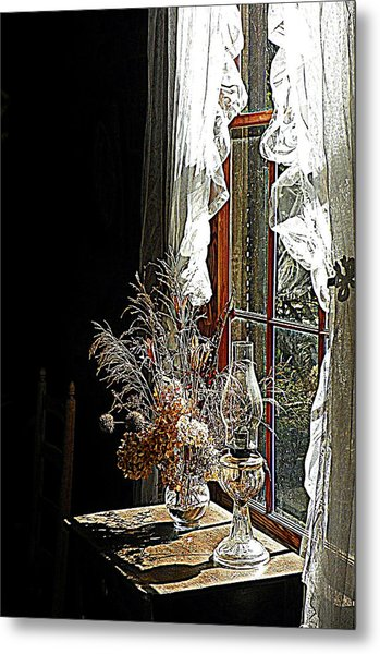 Window Sunshine 2 Metal Print