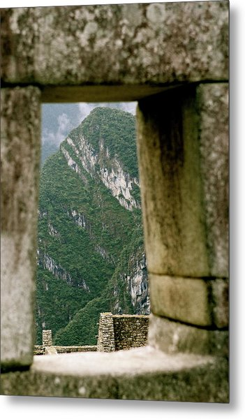 Window To The Gifts Of The Pachamama Metal Print