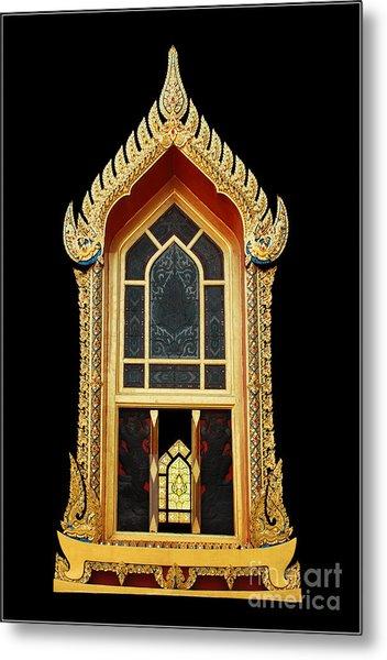 Window Metal Print by Ty Lee