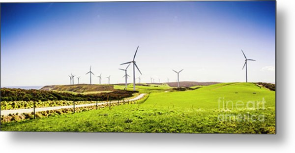 Winds From West Woolnorth Metal Print