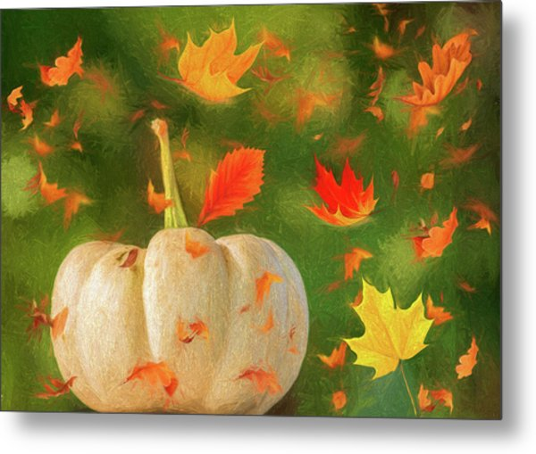 Winds Of Autumn Metal Print