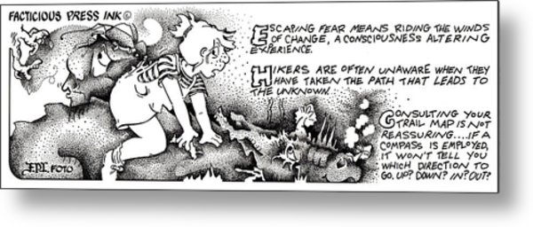Winds Of Change Fpi Cartoon Metal Print