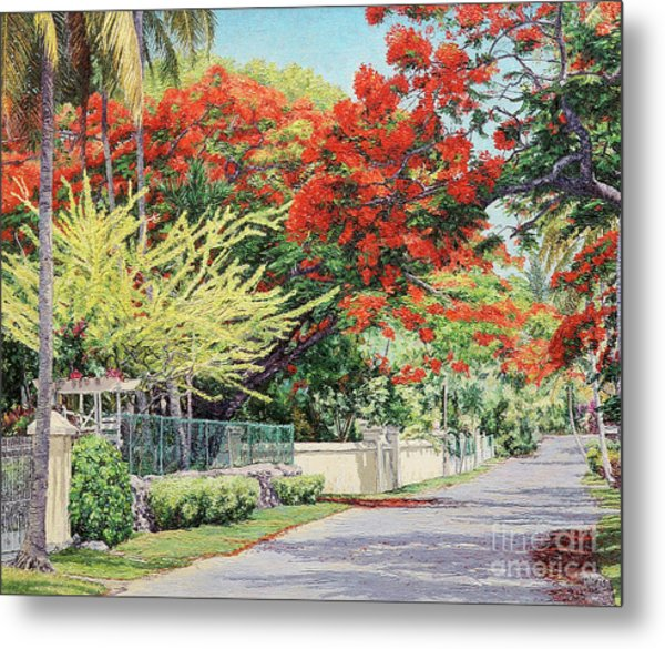 Windsor Avenue Metal Print
