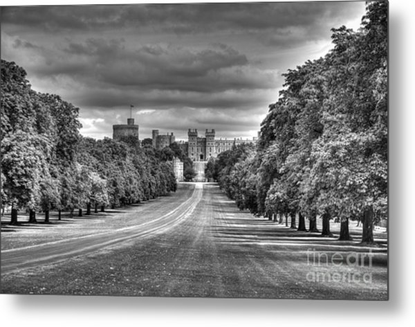 Windsor Castle  Infrared Metal Print