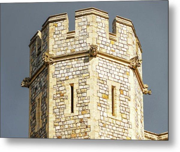 Windsor Castle Detail Metal Print