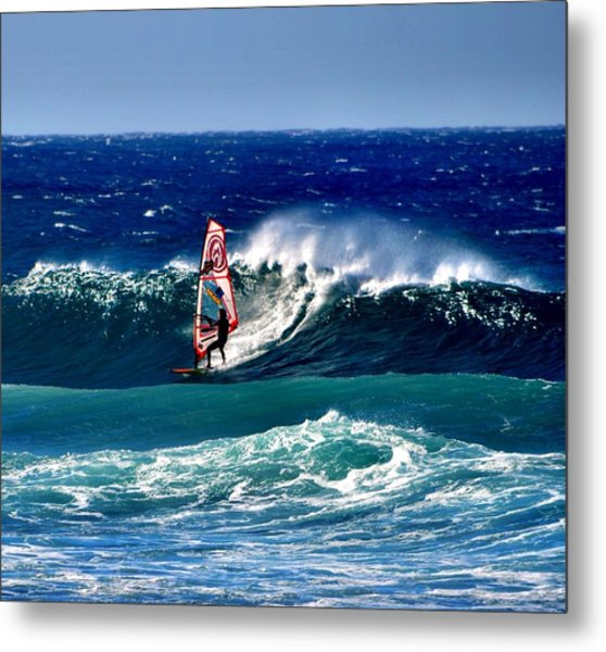 Windsurfer Metal Print