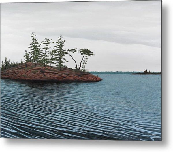 Windswept Island Georgian Bay Metal Print