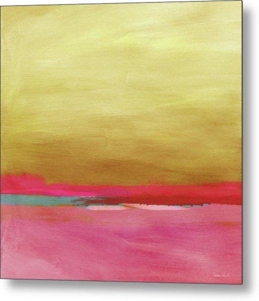 Windswept Sunrise- Art By Linda Woods Metal Print