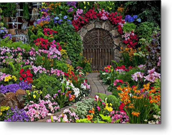 Wine Celler Gates  Metal Print