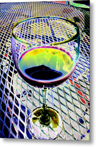 Wine Vertical Metal Print by Peter  McIntosh