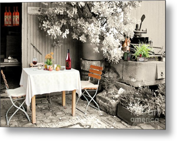 Winelover's Place Metal Print