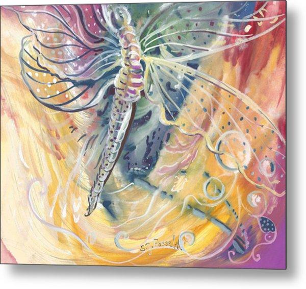Wings Of Transformation Metal Print