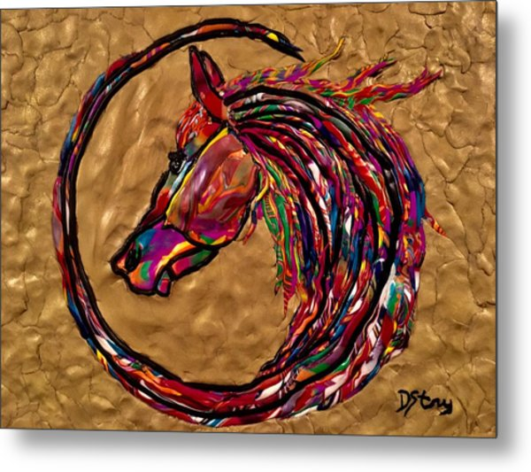 Winners Circle Metal Print