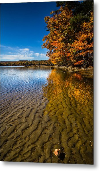 Winnisquam Fall Metal Print