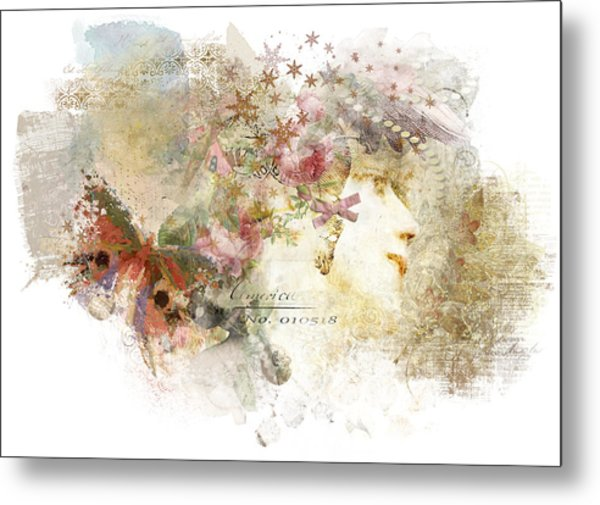 Winsome Metal Print